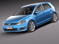 Volkswagen Golf 5-door 2015