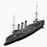 bremen class cruiser imperial 3d max