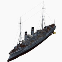 3d gazelle class cruiser imperial model