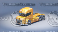 3d cartoon toy car model