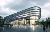 3d model museum building