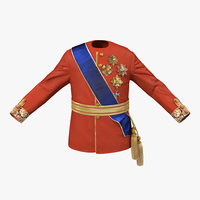 3dsmax royal king costume 5