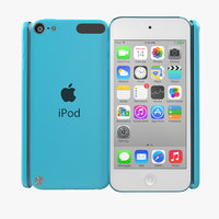 maya ipod touch blue