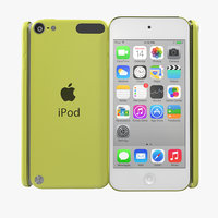 iPod Touch Yellow