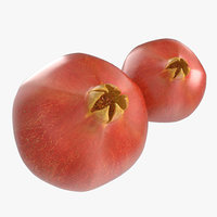 3d model of pomegranate 2