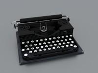 typewriter max