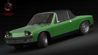 3d model porsche 914-6 gt 1969