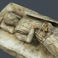 headstone knight 3d model