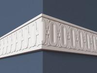 3dsmax frieze