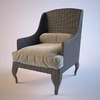 Rotang armchair