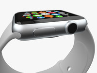 watch apple 3d model