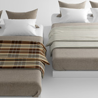 bed cover 3d max