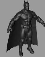 3d model of batman xml dae