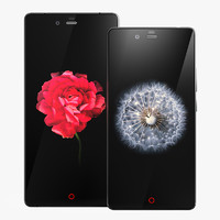 3d model zte nubia z9 mini