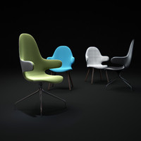 3d model catch-chair