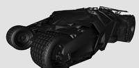 3d model of tumbler batman