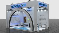3d fair stand - adonis