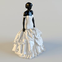 3d dress mannequin