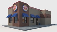 3ds burger king restaurant