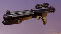 3d model imperial blaster