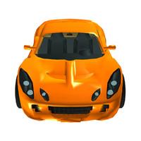 3d max elise car