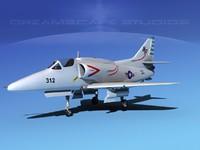 Douglas A-4G Skyhawk V05 USN