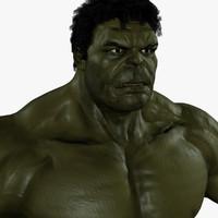 hulk avengers 3d obj