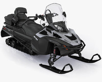 snowmobile ski-doo expedition se 3d model
