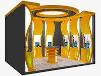 3d exhibition booth
