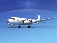 propellers douglas dc-6 lwo