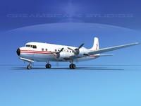 3d 3ds propellers douglas dc-6