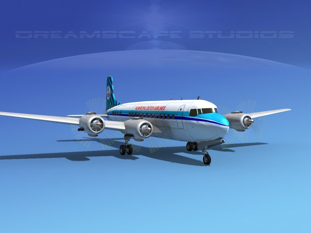 Douglas DC-6 KLM Royal Dutch0020.jpg