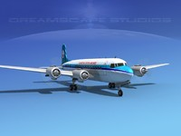 Douglas DC-6 KLM Roal Dutch Airlines