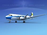 maya propellers douglas dc-6