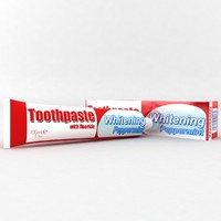 toothpaste tube 3d model