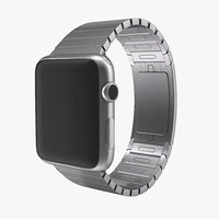 3d model apple watch link bracelet