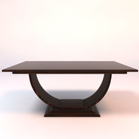 3d model felicia dining table