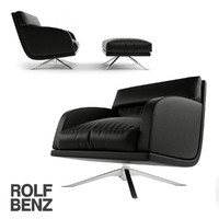 rolf benz 5900 chair 3d model