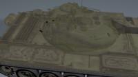 c4d t-54 tank