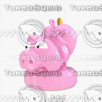 funny piggy bank 3d max