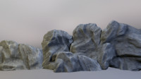 3d model of ready rock