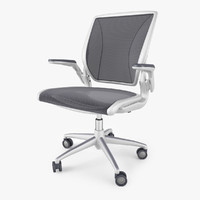 maya humanscale diffrient world chair