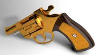 revolver 3d c4d