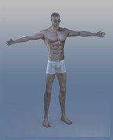3d male guy man