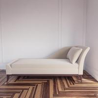 3dsmax elizabeth chaise