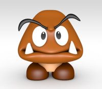 goomba super mario 3d 3ds