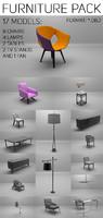 3d furniture pack