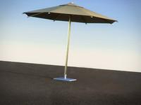3d umbrella sha35zu royal botania model