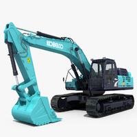 Kobelco SK495D Excavator