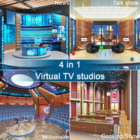 3ds max tv virtual studios 4